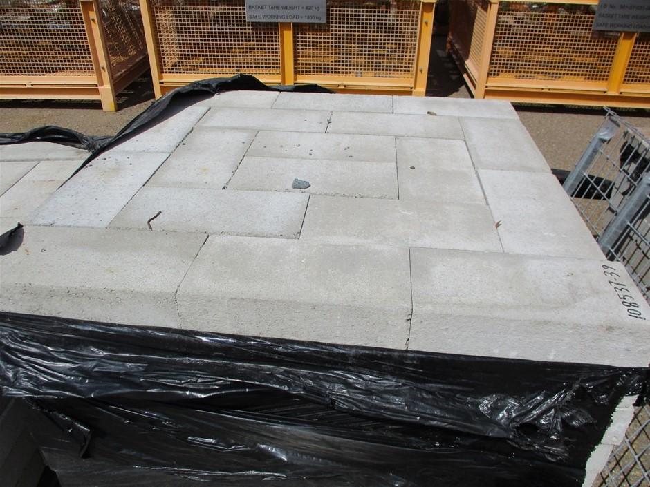 Qty Approx. 144x Concrete Blocks