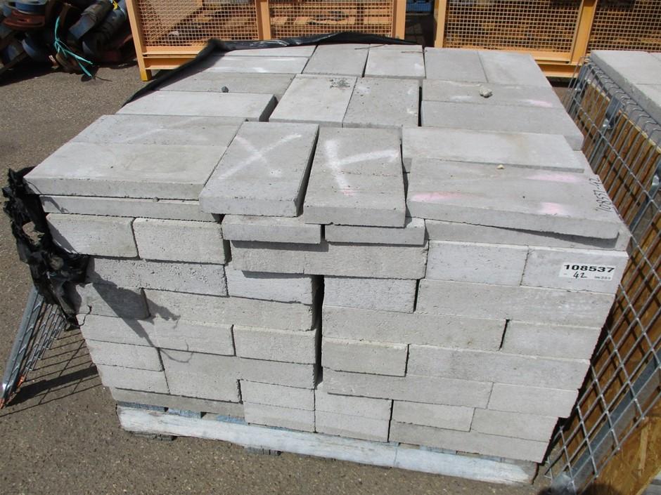 Qty Approx. 162x Concrete Blocks