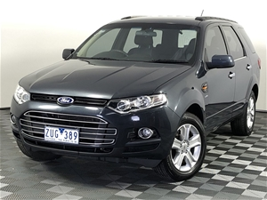 2011 Ford Territory TX (4x4) SZ Turbo Di