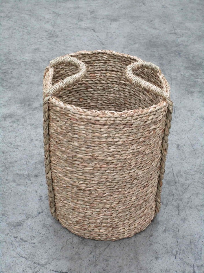 Pallet of Approx. 95 Seagrass Woven Basket