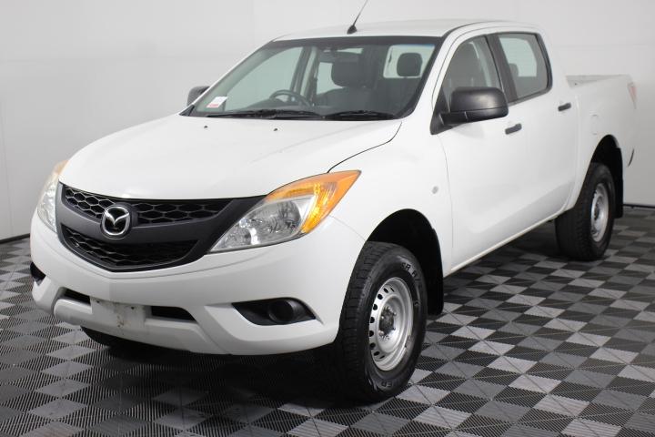 2012 MY13 Mazda BT-50Dual cab 3.2 Turbo Diesel 111,253 km's