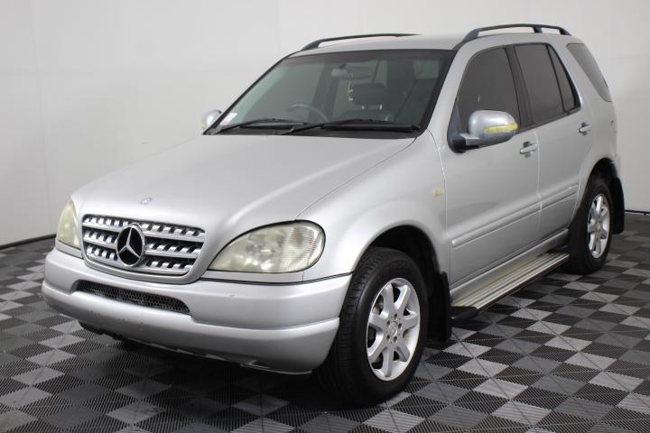 1999 Mercedes Benz ML 430 (4x4) W163 Automatic 7 Seats Wagon