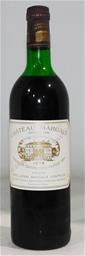 Chateau Margaux Margaux 1978 (1x 750ml), Bordeaux. Cork closure.