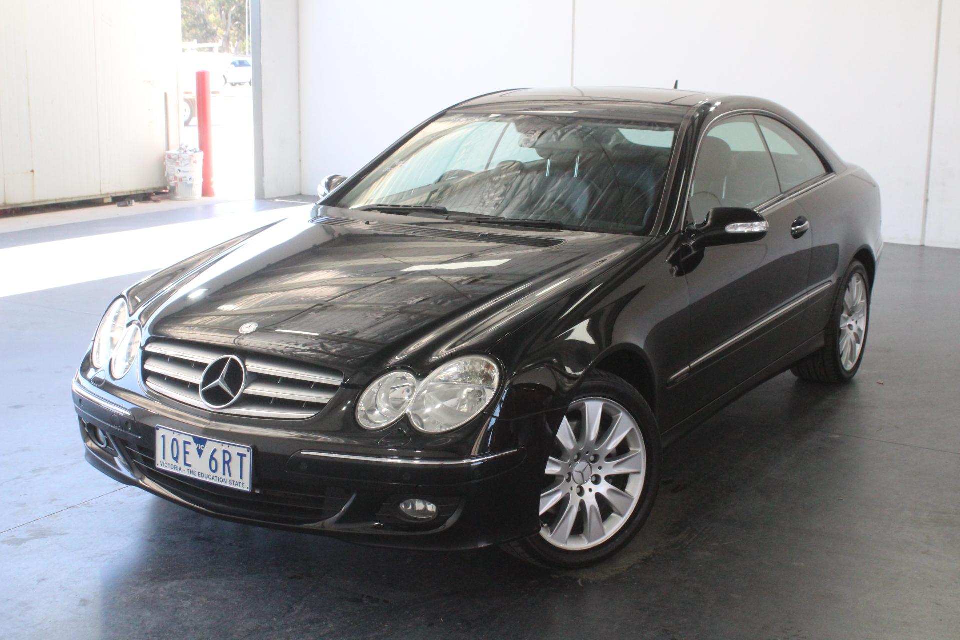 2008 Mercedes Benz CLK350 Elegance C209 Automatic Coupe