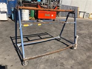 A Frame product trolley, 1895L x 860W x
