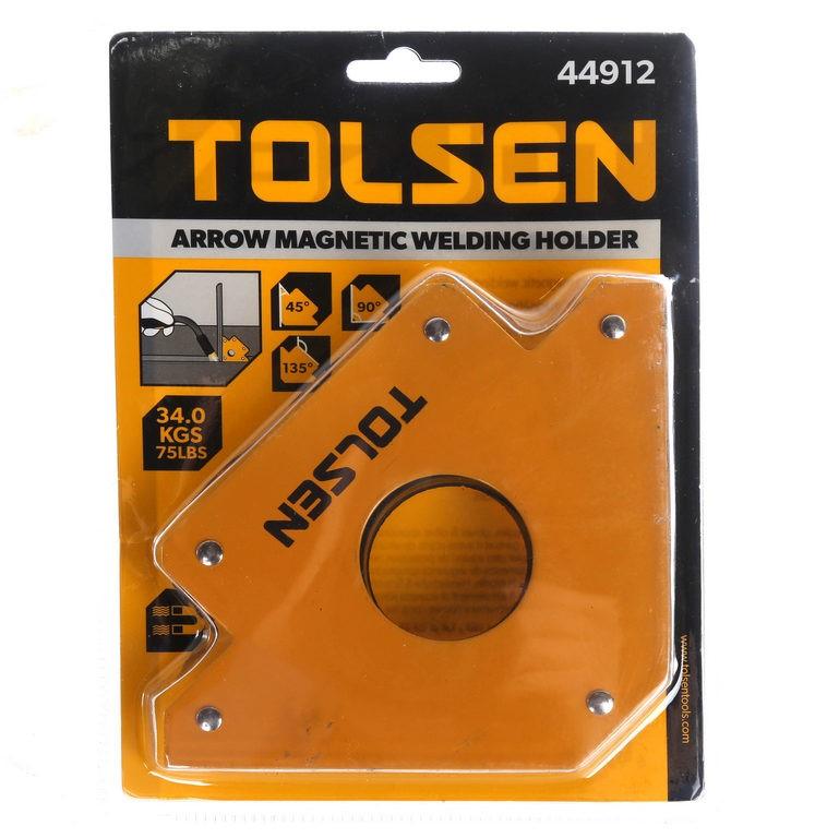 TOLSEN Arrow Magnetic Welding Holder, Pull Force 34kg. Buyers Note - Discou