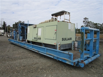 Sullair Skid Mounted Compressor with Booster