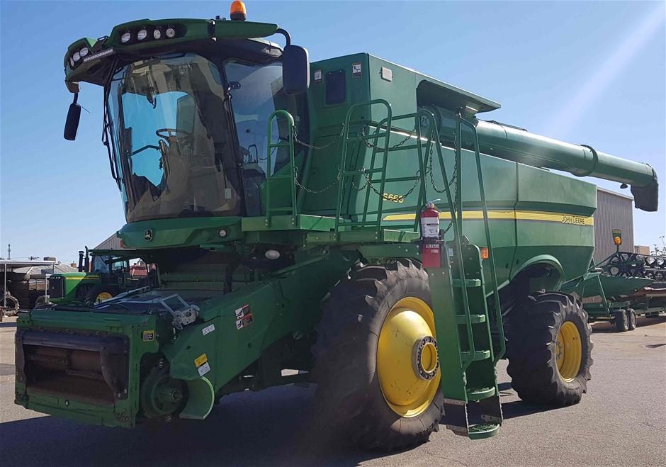 2012 John Deere S660 Harvester