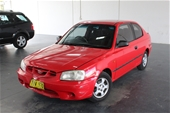 Unreserved 2002 Hyundai Accent GL LS Automatic