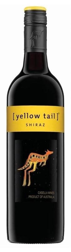 Yellowtail Shiraz (12 x 750mL), SE AUS.