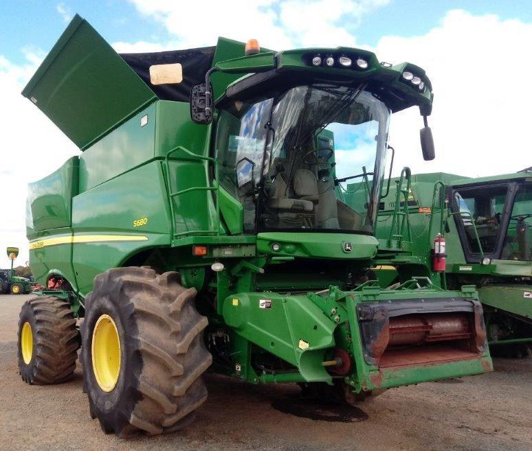 2012 John Deere S680 Harvester