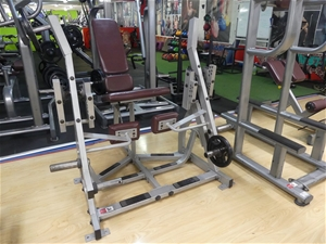 Hammer Strength Plate Loaded Seated Leg