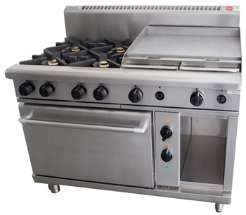 WALDORF 4 BURNER STOVE GRILL PLATE AND OVEN