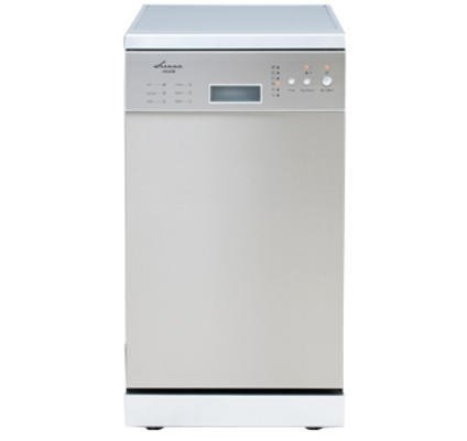 Euro 45cm stainless steel freestanding dishwasher, Model EP845DSX