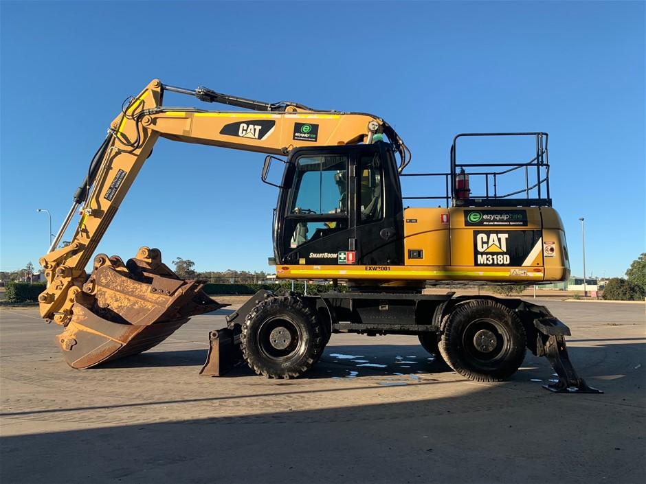 2012 Caterpillar M318D Wheel Excavator