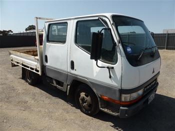 2000 Mitsubishi Canter L 500/600 4x2 Tray Body Truck