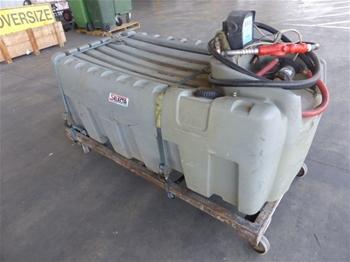 Silvan Selecta 600 Litres Diesel Tank With Pump