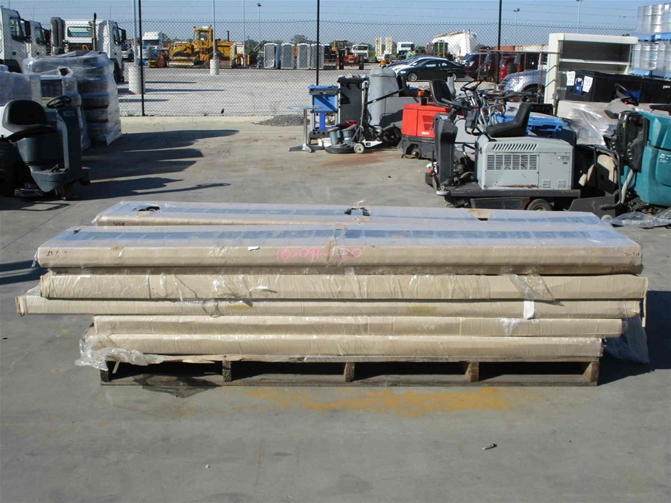 Pallet of Approximately 22 x Assorted Panel Door Sections