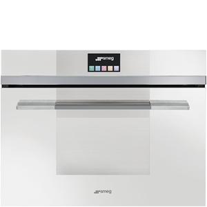Smeg 60cm White Touch Compact Combi Stea