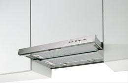 Smeg 60cm Retractable Stainless Steel Rangehood, Model: SA5502X60