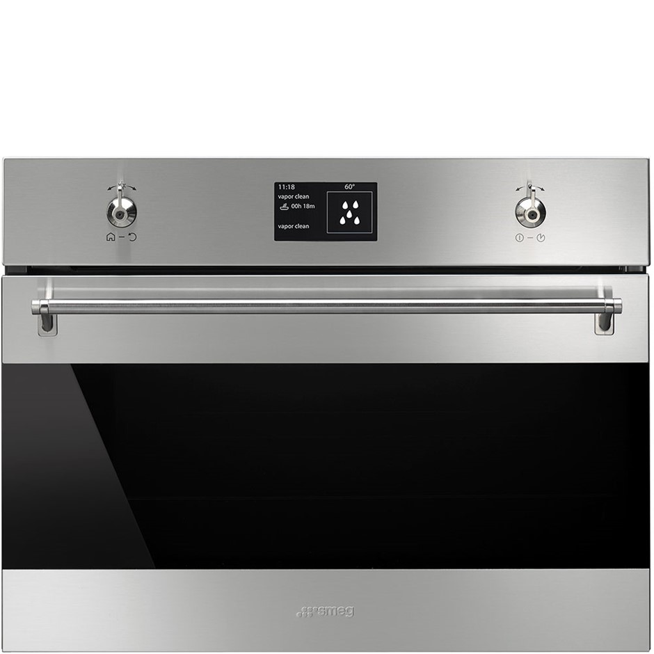 Smeg 60cm Classic Compact Speed Oven, Model: SFA4395MCX