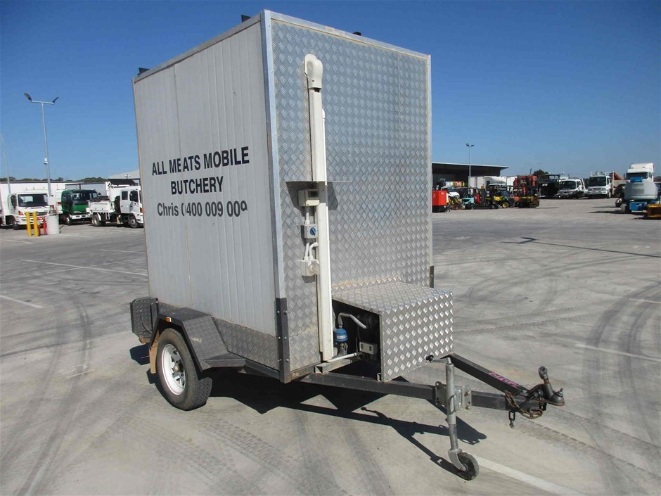 Single Refrigerated Trailer