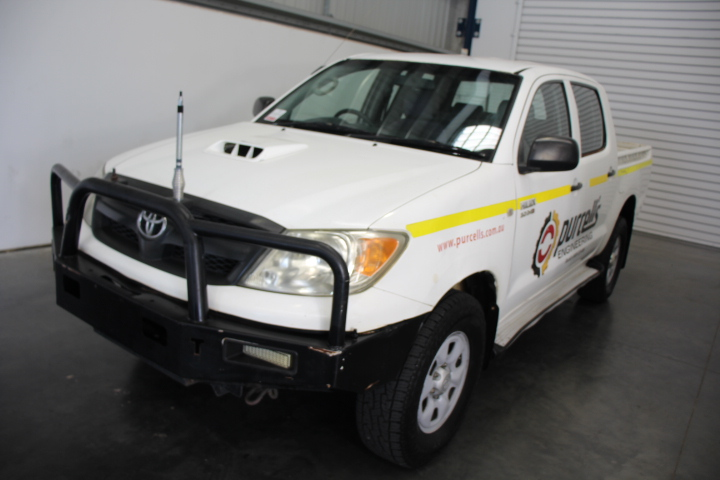 2007 Toyota Hilux 4WD3.0 T/Diesel Dual Cab (Service History)
