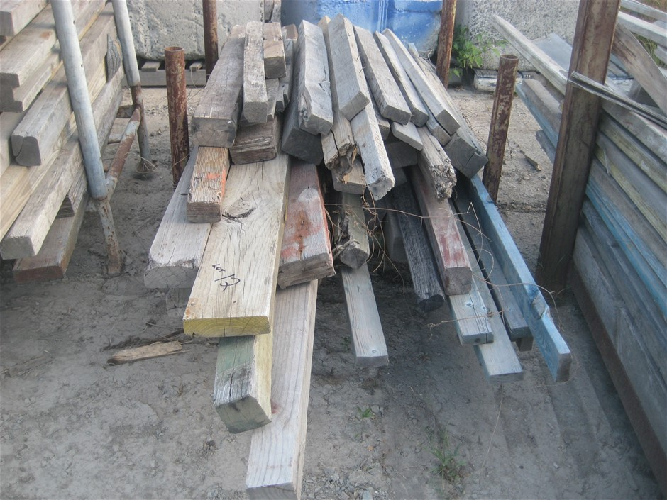 Stillage of Timber