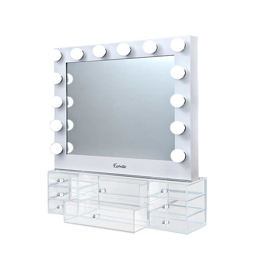 Embellir Hollywood Makeup Mirror With Light jewellery LED Bulbs Mirrors