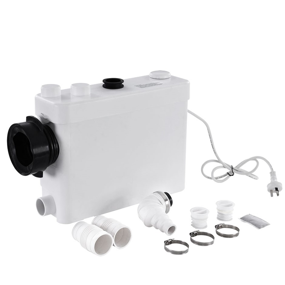 400W Macerator Sewerage Pump Waste Toilet Sewage Water Disposal Marine