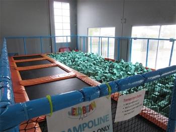 UNRESERVED Indoor Commercial Grade Trampoline Centre