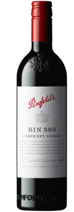 Penfolds `Bin 389` Cabernet Shiraz 2017 Gift Box (6 x 750mL) SA