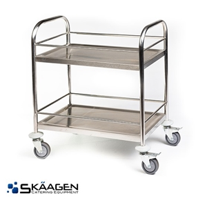 Unused Stainless Drink Trolley (Small)