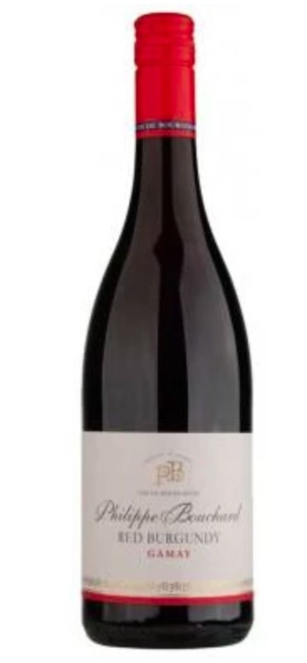Philippe Bouchard Red Burgundy Gamay 2016 (6x 750mL) France