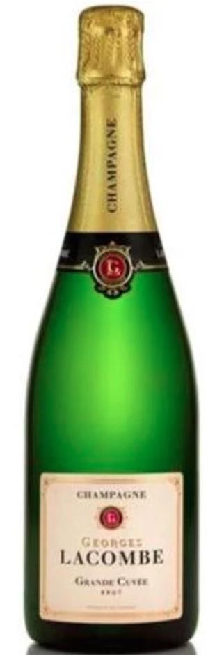 Champagne Georges Lacombe Grande Cuvee Brut NV (6x 750mL) France