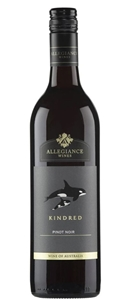 Allegiance Wines Kindred Pinot Noir 2018