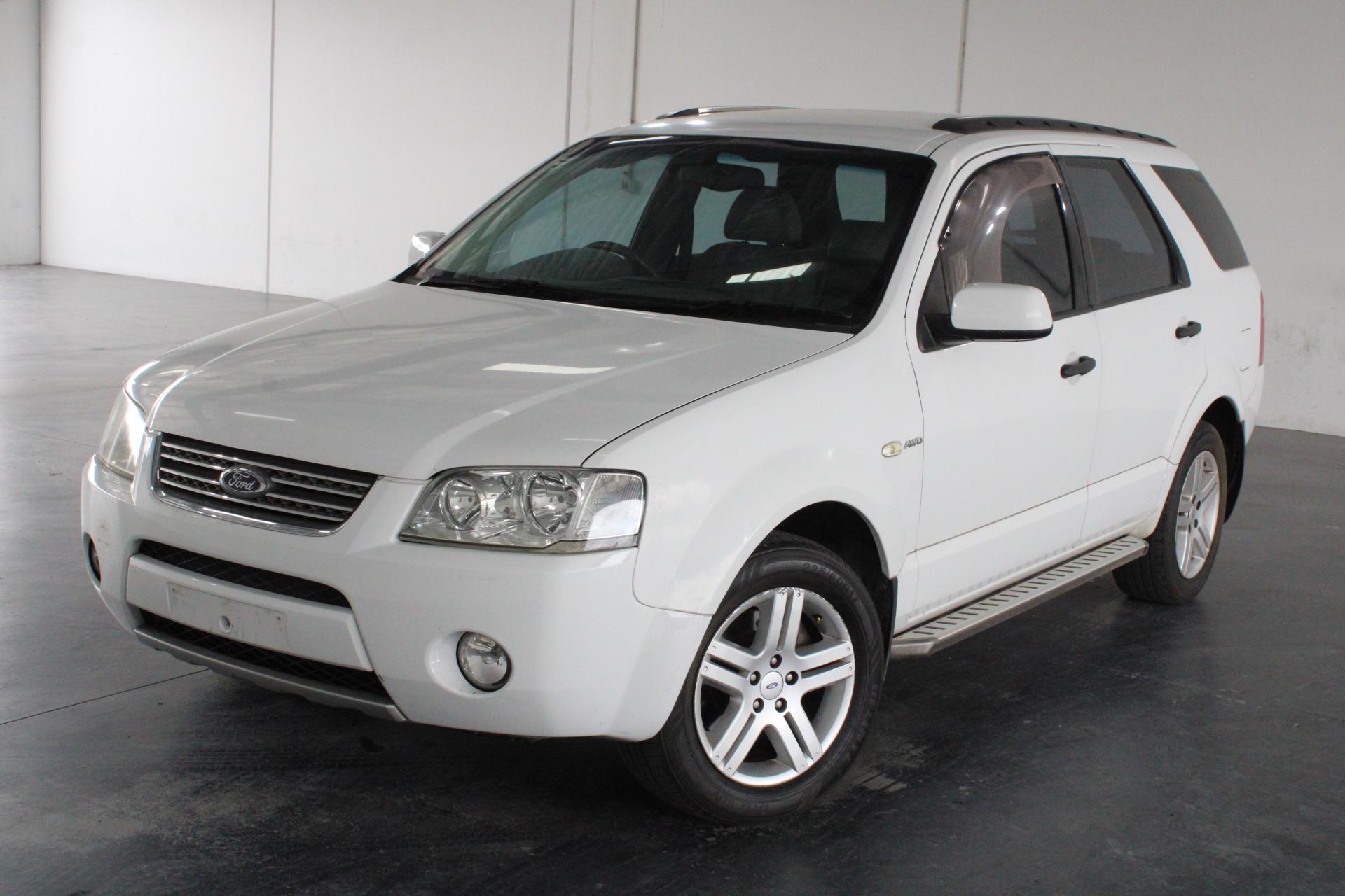 2004 Ford Territory Ghia (4x4) SX Automatic 7 Seats Wagon