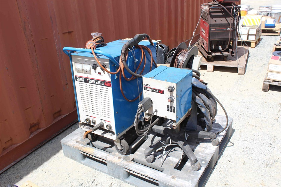 Cigweld Transmig 400 Welder Auction (0006-9013686 ...