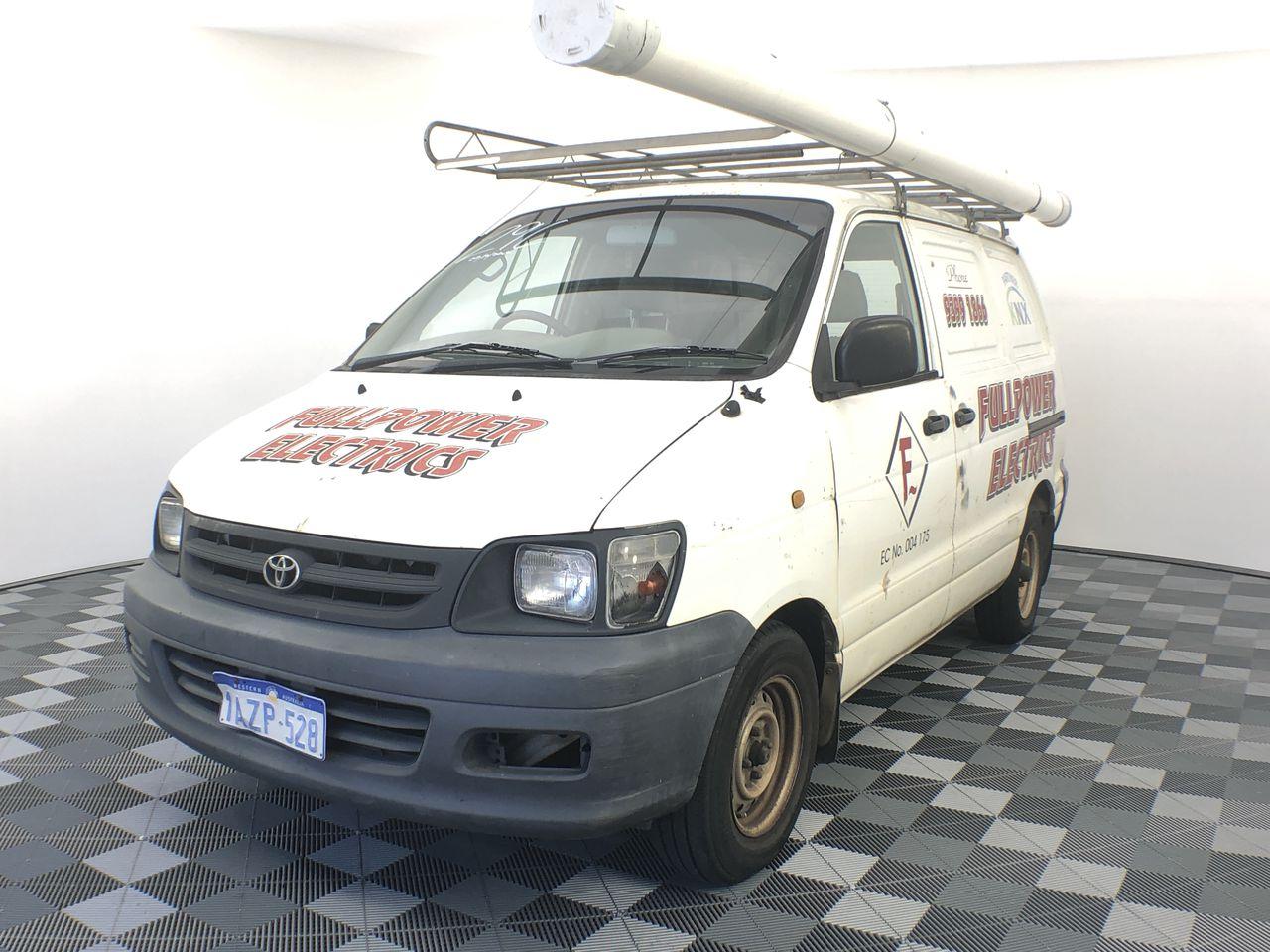 2001 Toyota Townace SBV KR42R Manual Van
