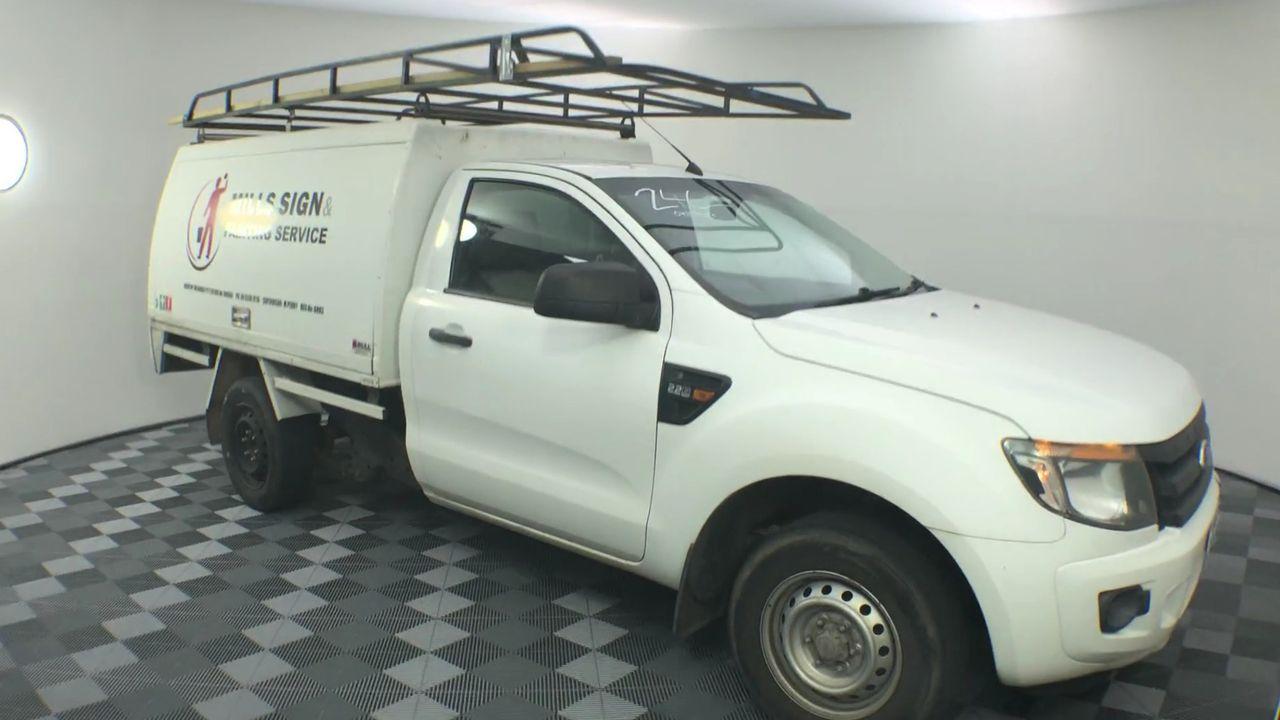 2012 Ford Ranger XL 2.2 (4x2) PX Turbo Diesel Manual Cab Utility