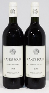 Lakes Folly Cabernets 1998 (2x 750ml)