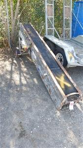Three Stage Brick / Tile Conveyor Belt