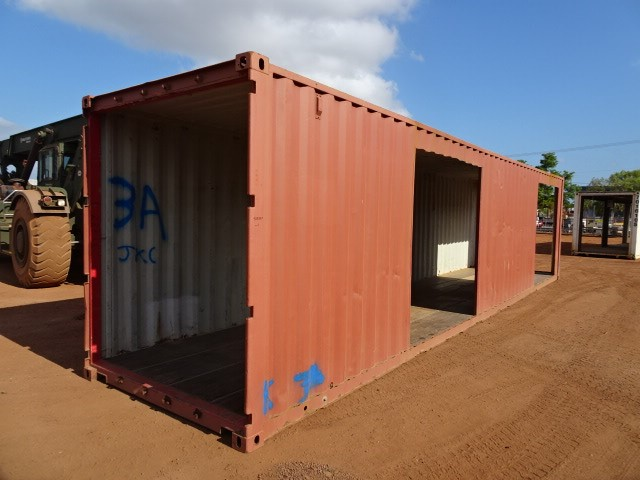 Walkway Shelter, High Cube, 40 Foot, Modified Container (B-Type)