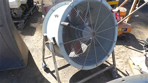 Large Blower Fan with Spare Housing and