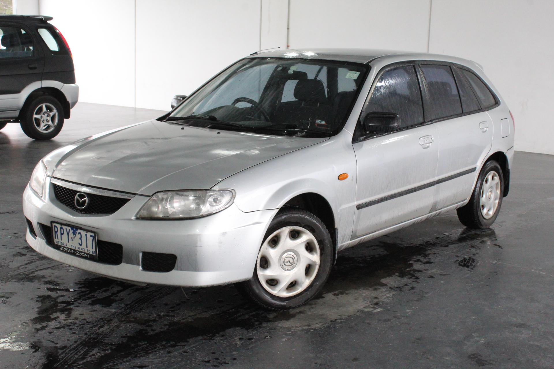 2002 Mazda 323 Astina BJ Manual Hatchback