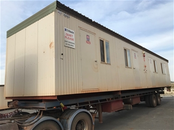 2005 Nomad 14.4m x 3.4m 4 Person Ensuited Accommodation Block