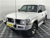 2000 Toyota Landcruiser Prado GXL (4x4) T/Diesel Man 7 Seats