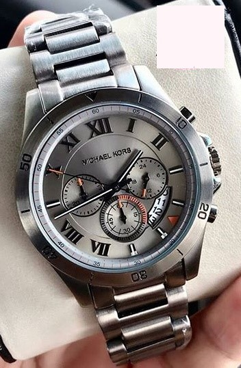 New Michael Kors Couture NY 'Brecken' mens chronograph handsome watch