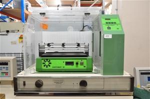 Incubator cabinet 800 x 420 mm fan force