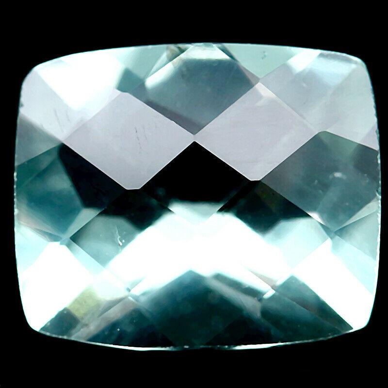 5.44 ct. Cushion Cut With Checkerboard Green Fluorite